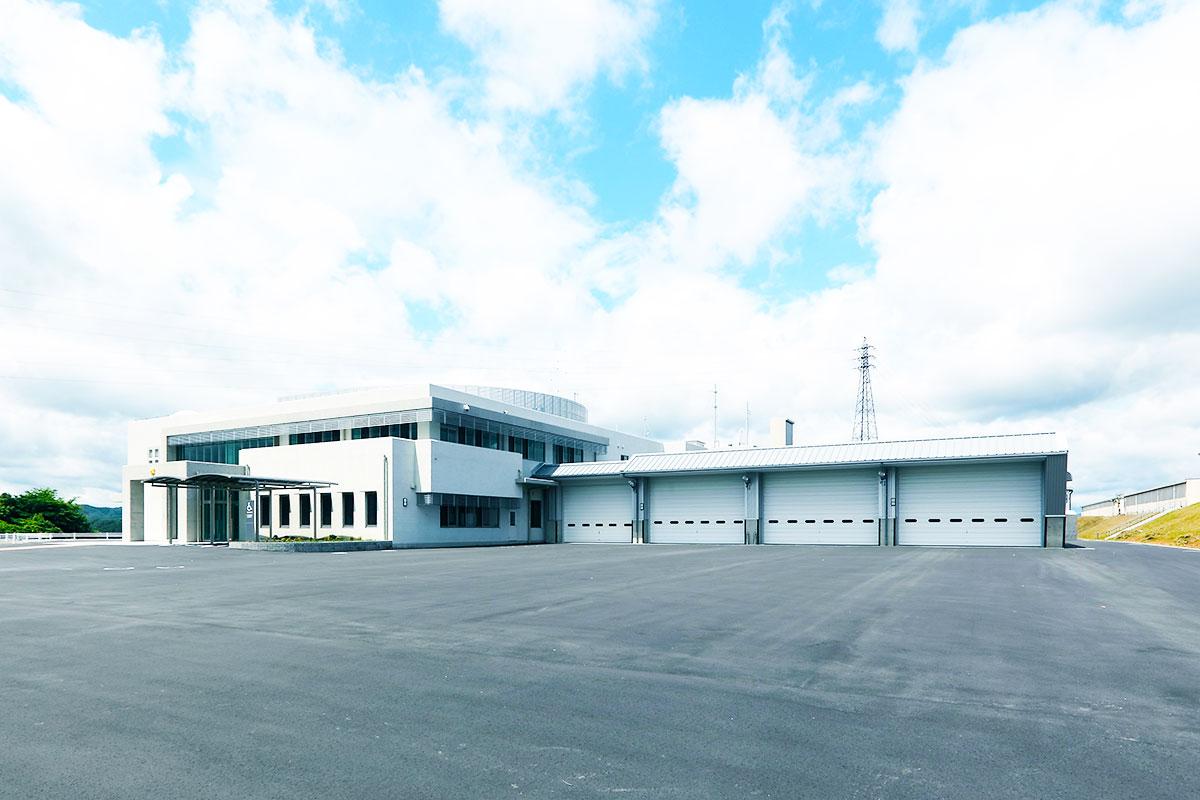名張市消防庁舎を新築
