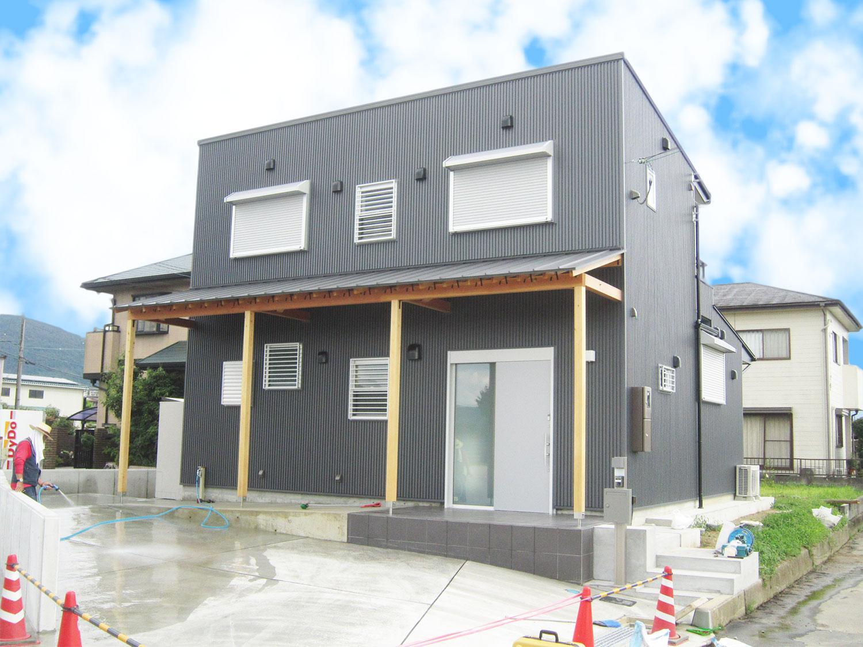 名張市で建てるシンプルモダンな一戸建て