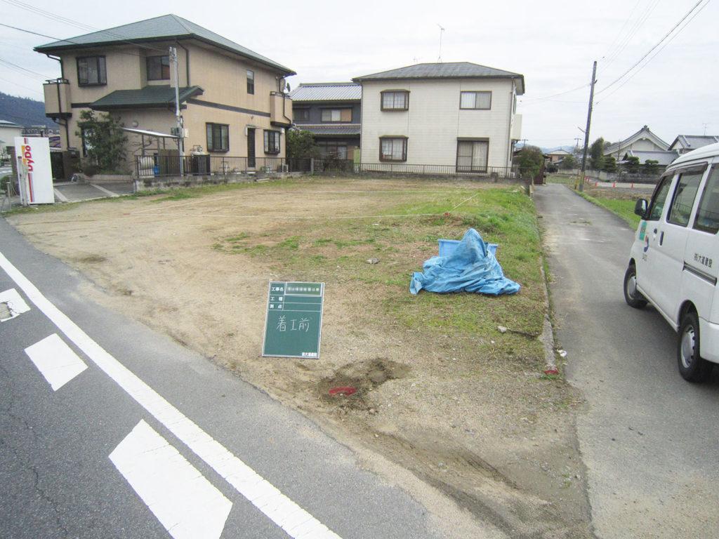 名張市なら大阪から1時間ちょっとの通勤圏内の一戸建てが家賃程度の8万円台で建ちます。